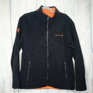 Men's Merrell Fleece Full Zip Jacket Black size XL